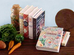 dollhouse miniature books