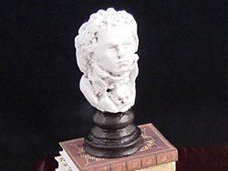 dollhouse Beethoven bust