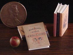 dollhouse schoolbooks