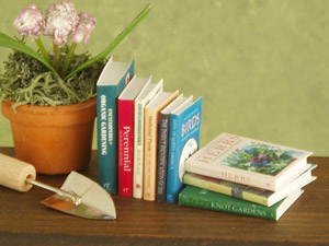 miniature gardening books