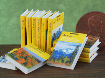 miniature travel guides