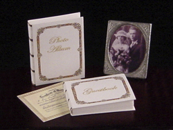 miniature wedding albums