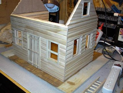 Life In Miniature Build Your Own Log Cabin