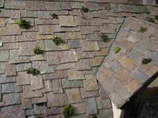 Life In Miniature Making Aged Slate Roof Shingles